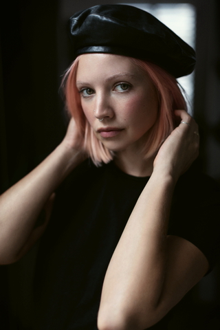 New press shots in London for B-Traits (presenter, DJ & producer), retouch by Christian Branscheidt 2018